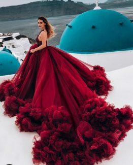 Kırmızı Abiye 2020-KA02